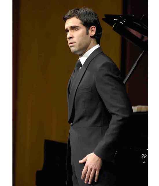 Ismael Jordi en recital