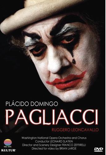 DVD MANUEL LANZA PAGLIACCI