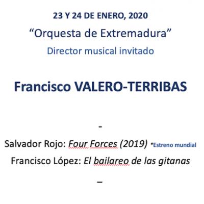 VALERO TERRIBAS & OEX 2020